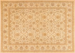 Tabriz 81373<div>9 x 12 8-10 x 12-2 Cream hand spun wool pile Hand-knotted in Pakistan rugs</div>