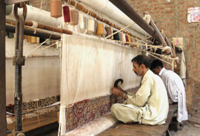 Rug Making Process